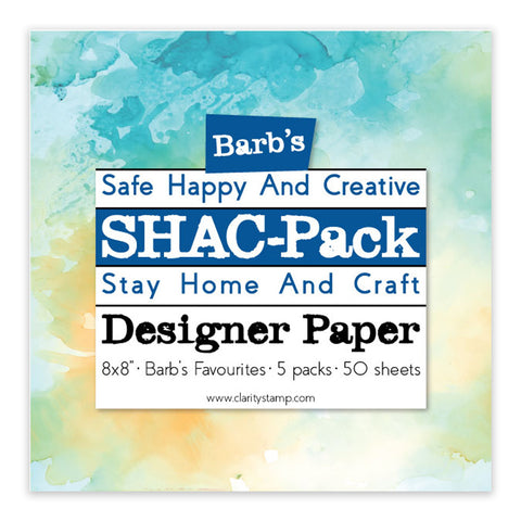"Barb's Favourites SHAC Pack 8"" x 8"" Designer Paper Pack"