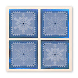 Large Snowflakes <br/>A5 Square Groovi Plate