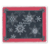 Small Snowflakes <br/>A5 Square Groovi Plate
