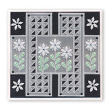 Tina's Summer Layering Squares <br/>A5 Square Groovi Plate