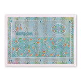 Tina's Floral Parchlets Collection <br/>A6 Square Groovi Baby Plate Set + Storage Folder