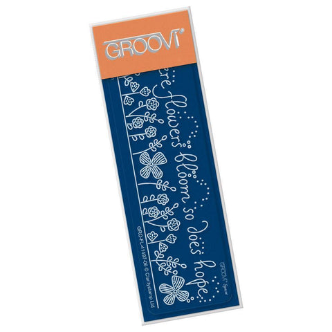 Where Flowers Bloom Groovi Spacer Plate