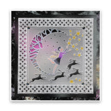 Fairy Night Round <br/>A5 Square Groovi Plate <br/>(Set GRO-FY-40976-03)