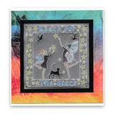Fairy Enchantment Round <br/>A5 Square Groovi Plate <br/>(Set GRO-FY-40976-03)