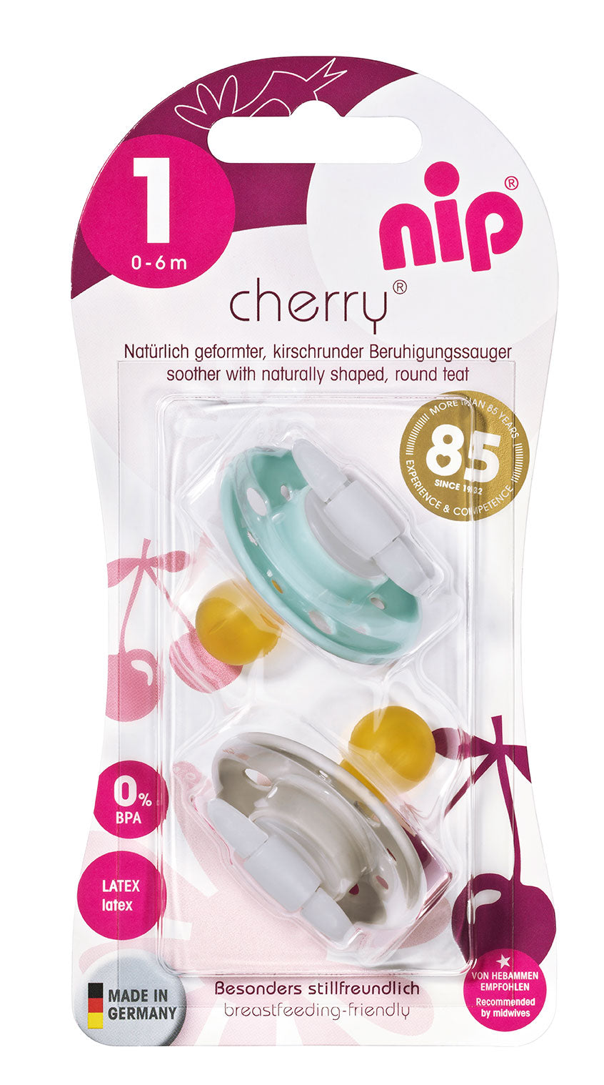 NIP DUMMY PACIFIER SOOTHER JINGLE BELLS ORTHODONTIC TEAT