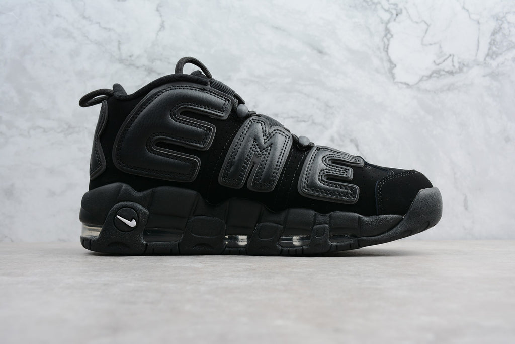 Supreme x Nike Air More Uptempo Black