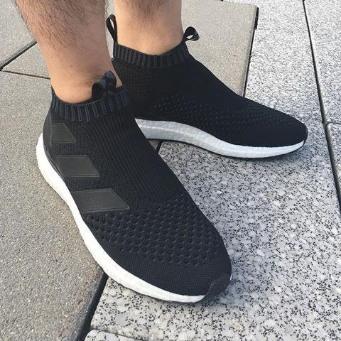 the latest ee9ee 60295 Adidas ACE 16+ Purecontrol Ultra Boost 'Core Black'