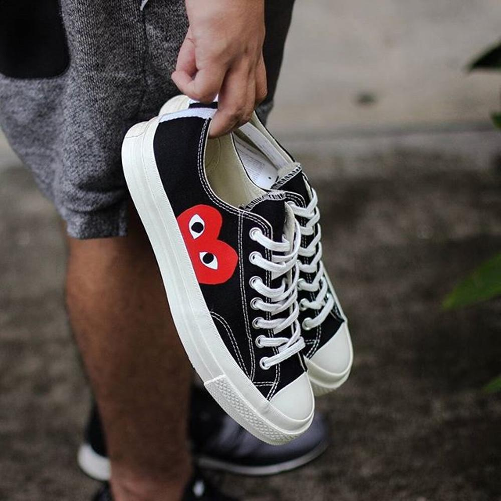 Play Converse Chuck Taylor All Star  70 Low  Black  – FootWork f1c428cea79e