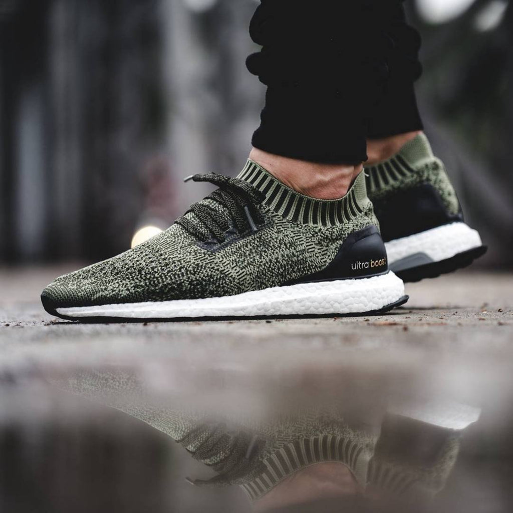 Adidas Ultra Boost Uncaged  Tech Earth Olive  – FootWork 8ac60a4a7d
