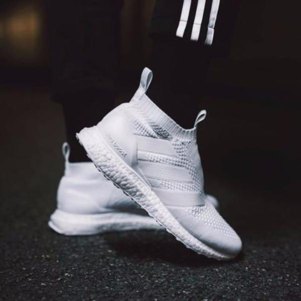 newest 489c4 7f00b Adidas ACE 16+ Purecontrol Ultra Boost 'Triple White'