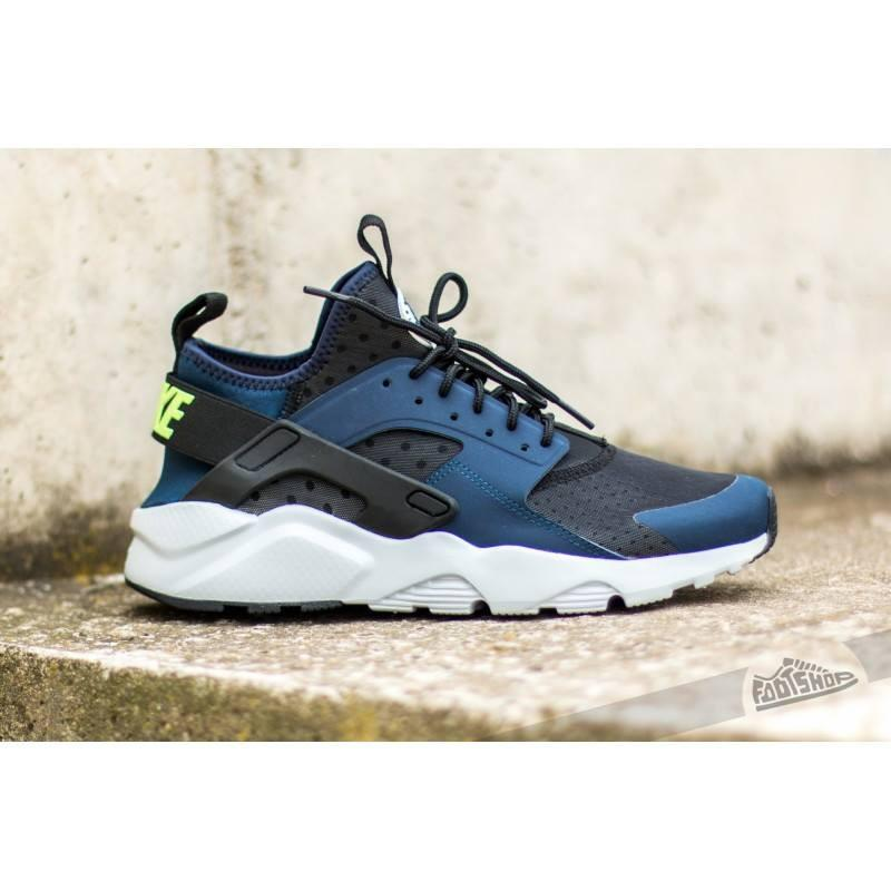 size 40 d7bee 5e50f Nike Air Huarache Run Ultra Midnight Navy Ghost Green-Black-Pure Platinum