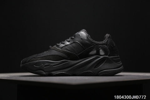 Adidas Calabasas Yeezy Boost 700 Runner  All Black  7ffd38ef2