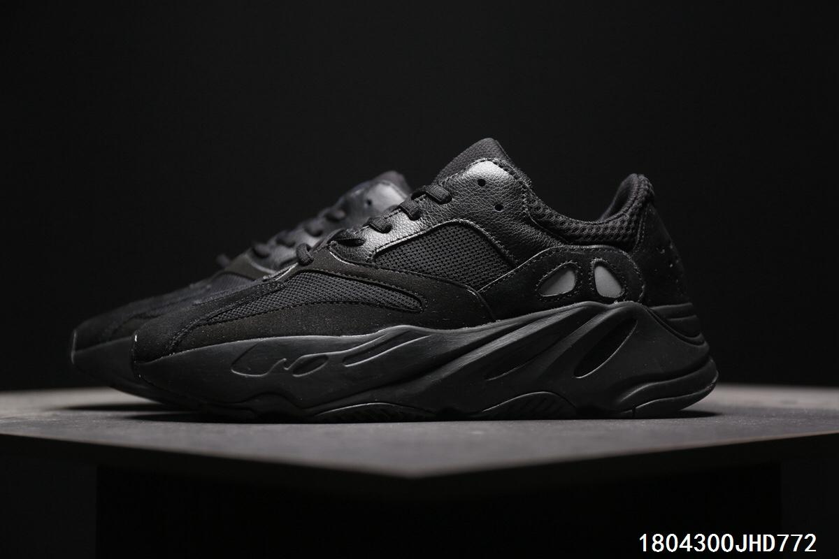 info for 30b7d 1f893 Adidas Calabasas Yeezy Boost 700 Runner 'All Black'