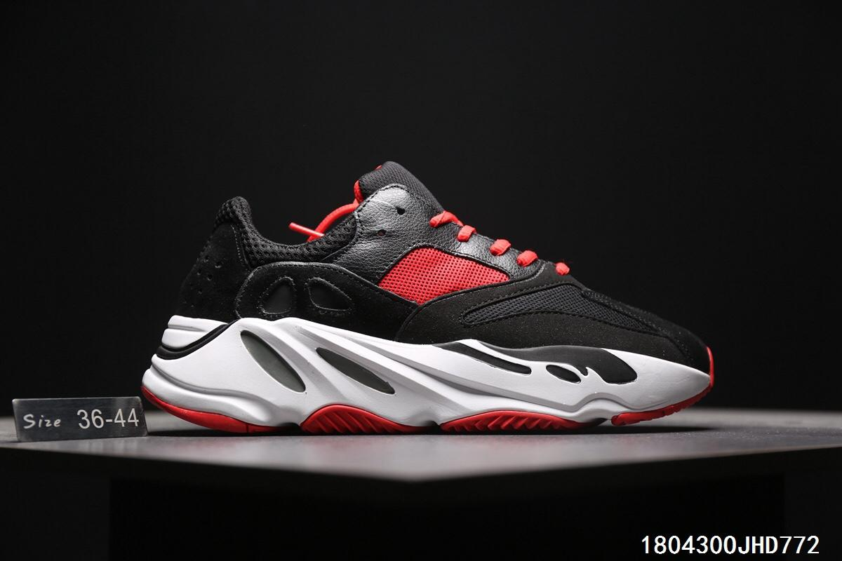 the best attitude ff769 46a4e Adidas Calabasas yeezy boost 700 runner 'Black/Red/White'