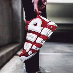 "Supreme x Nike Air More Uptempo Suptempo ""Red"""