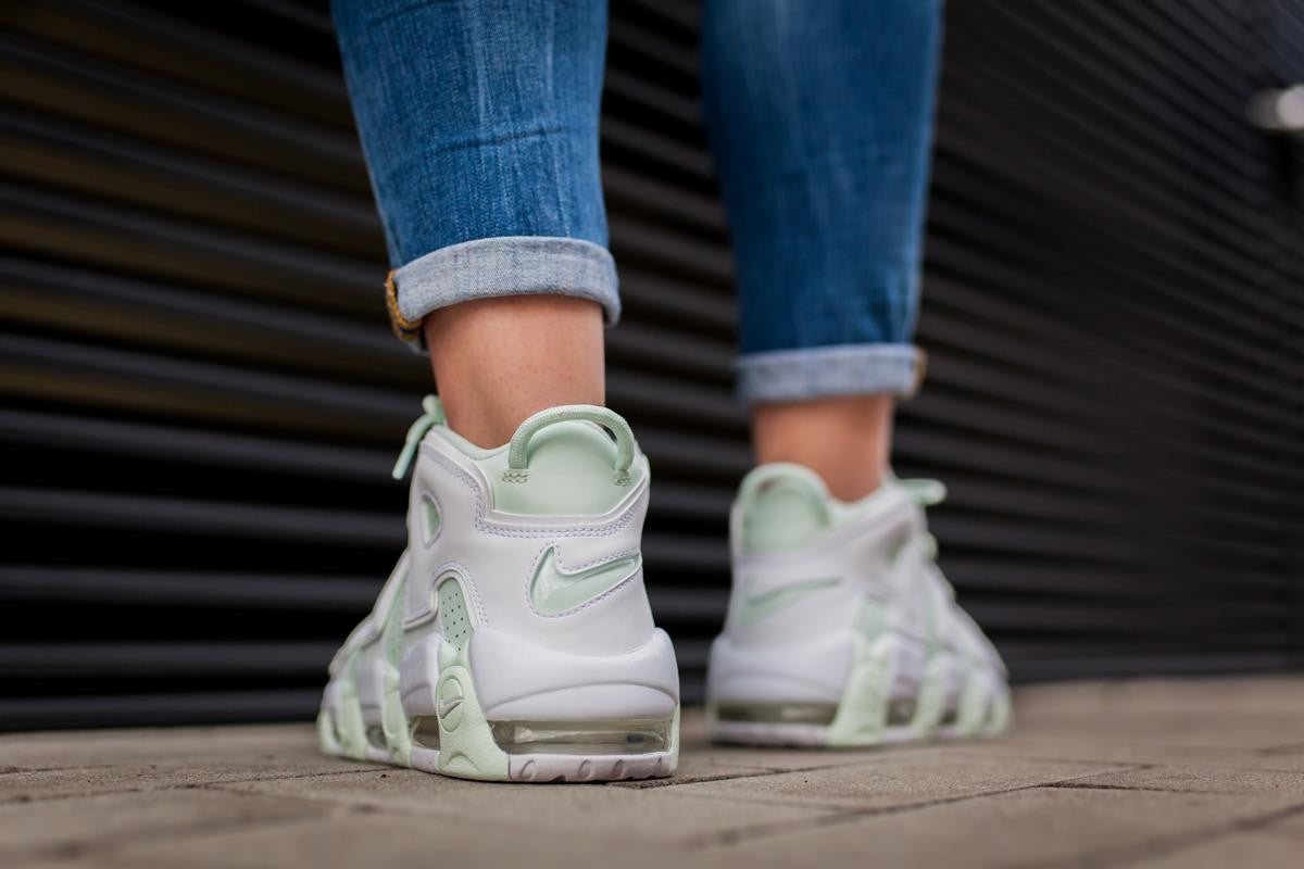 "more photos 676ee 6d6ef Nike Air More Uptempo ""Barely Green"""