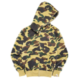 A Bathing Ape Camo Jacket Windstopper' Full Zip