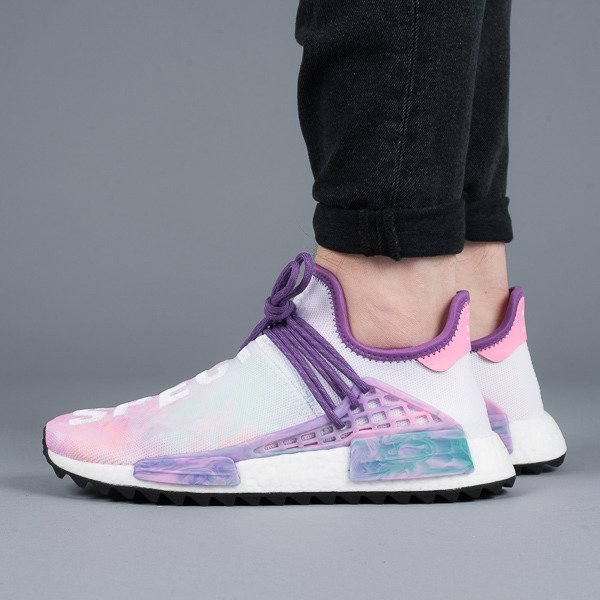 Adidas NMD Human Race Trail Pink Glow / Flash Green / Lab Purple