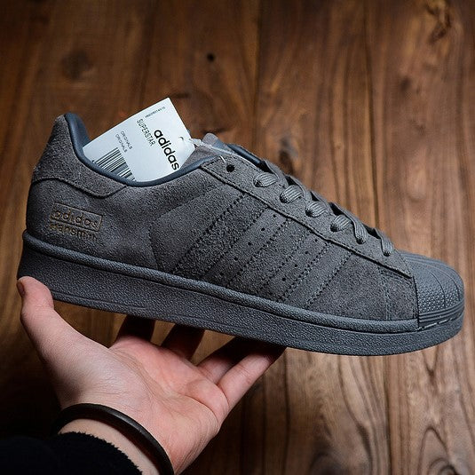 "Adidas Superstar ""All Grey"""