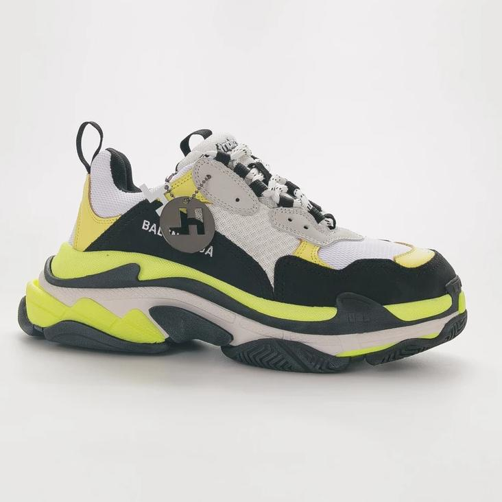 "Balenciaga Triple S 19FW ""Yellow /Green /Black"""