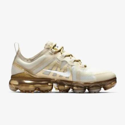 Nike Air VaporMax 2019 White Gold