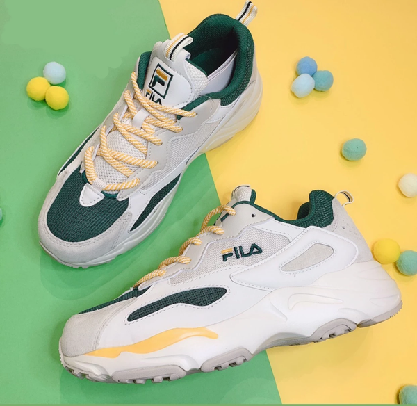 "Fila Ray Tracer ""Dark Gren/Yellow"""
