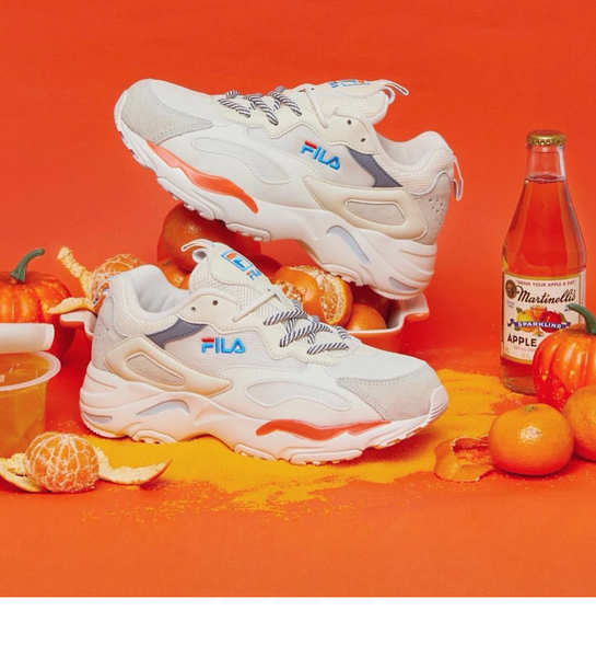 "Fila Ray Tracer ""Orange/Beige"""