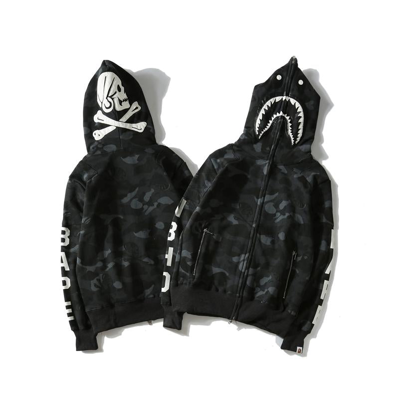 A Bathing Ape Dark Classic Full Hoodie