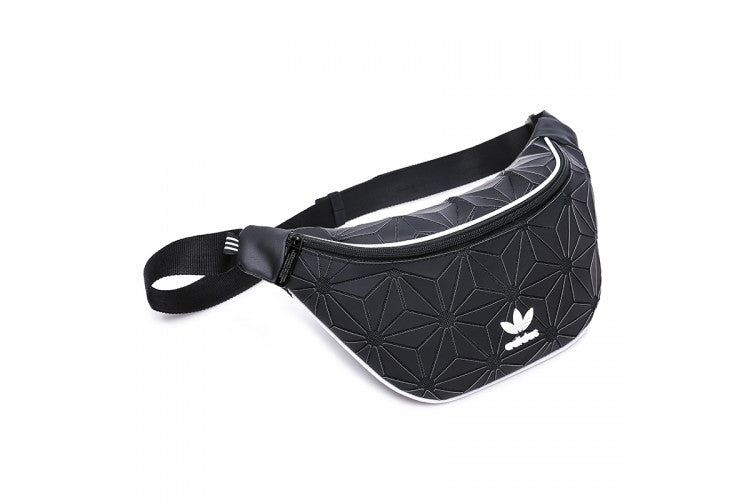 Adidas Originals Urban 3D Mesh Waist Bag 'Black'
