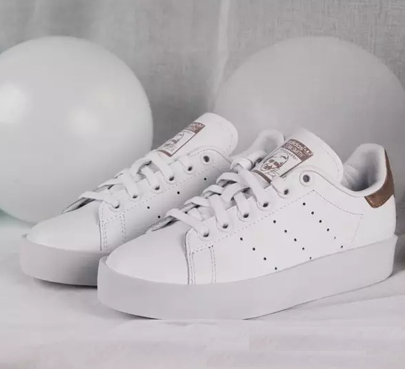 Adidas Stan Smith Bold White Gold-S32268 – FootWork 70ed8f4acad
