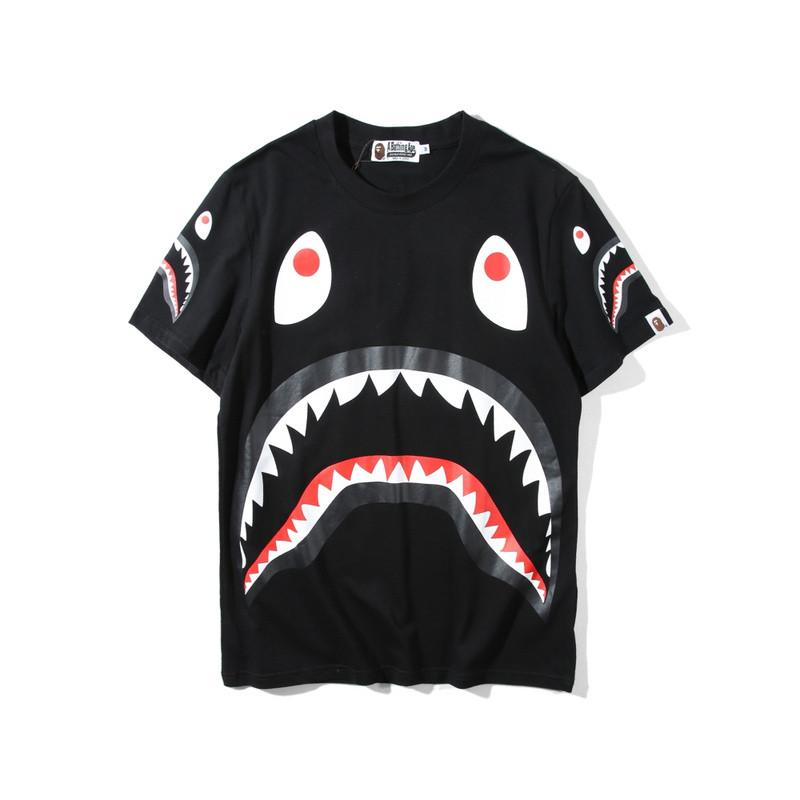 A Bathing Ape Shark Head Tee