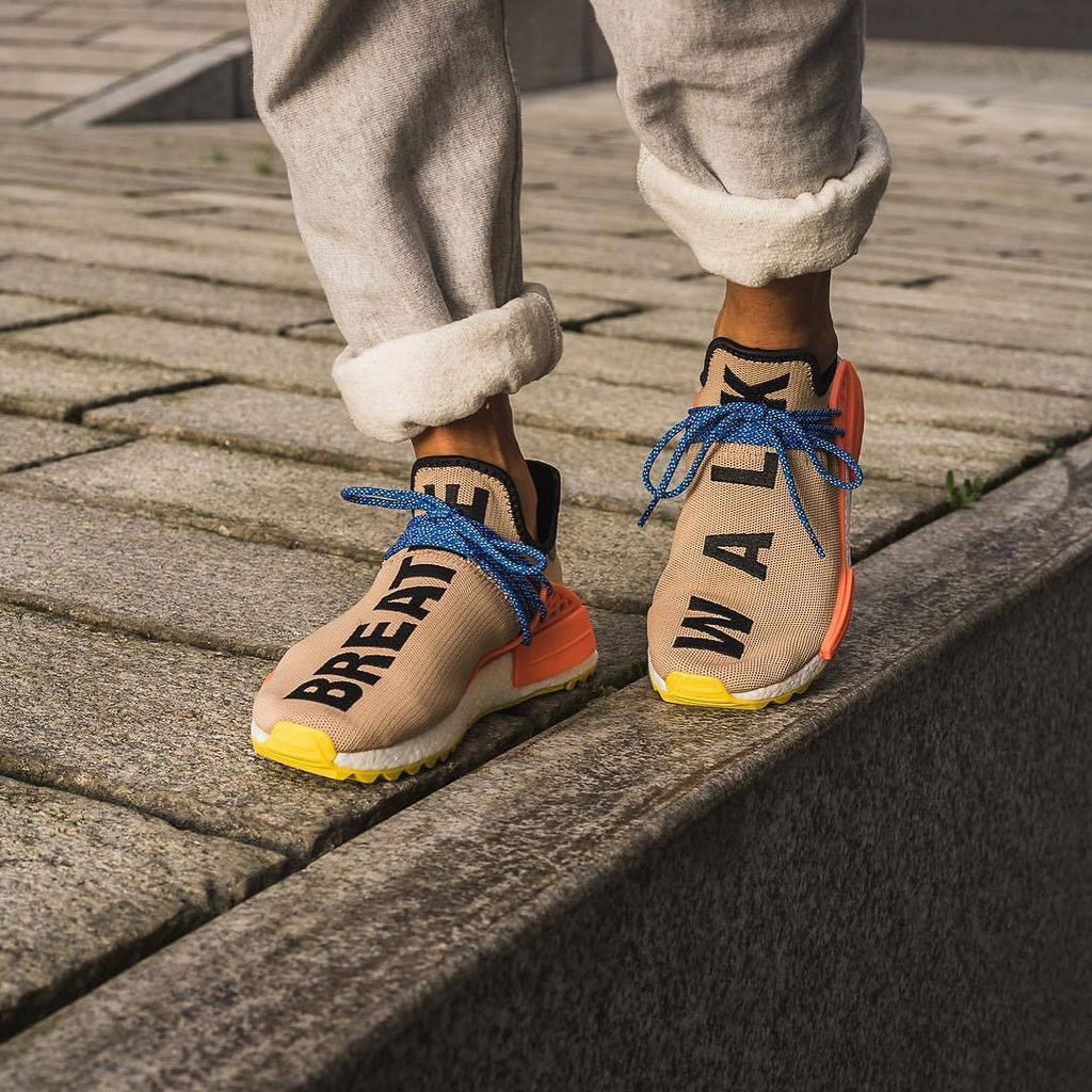 Pharrell Williams x Adidas Human Race NMD Trail Pale Nude – FootWork 72b3904b6e