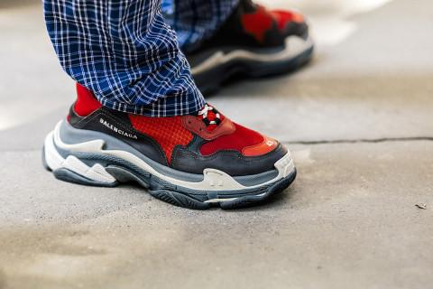 Balenciaga Triple S 2018ss 'Red/Black'