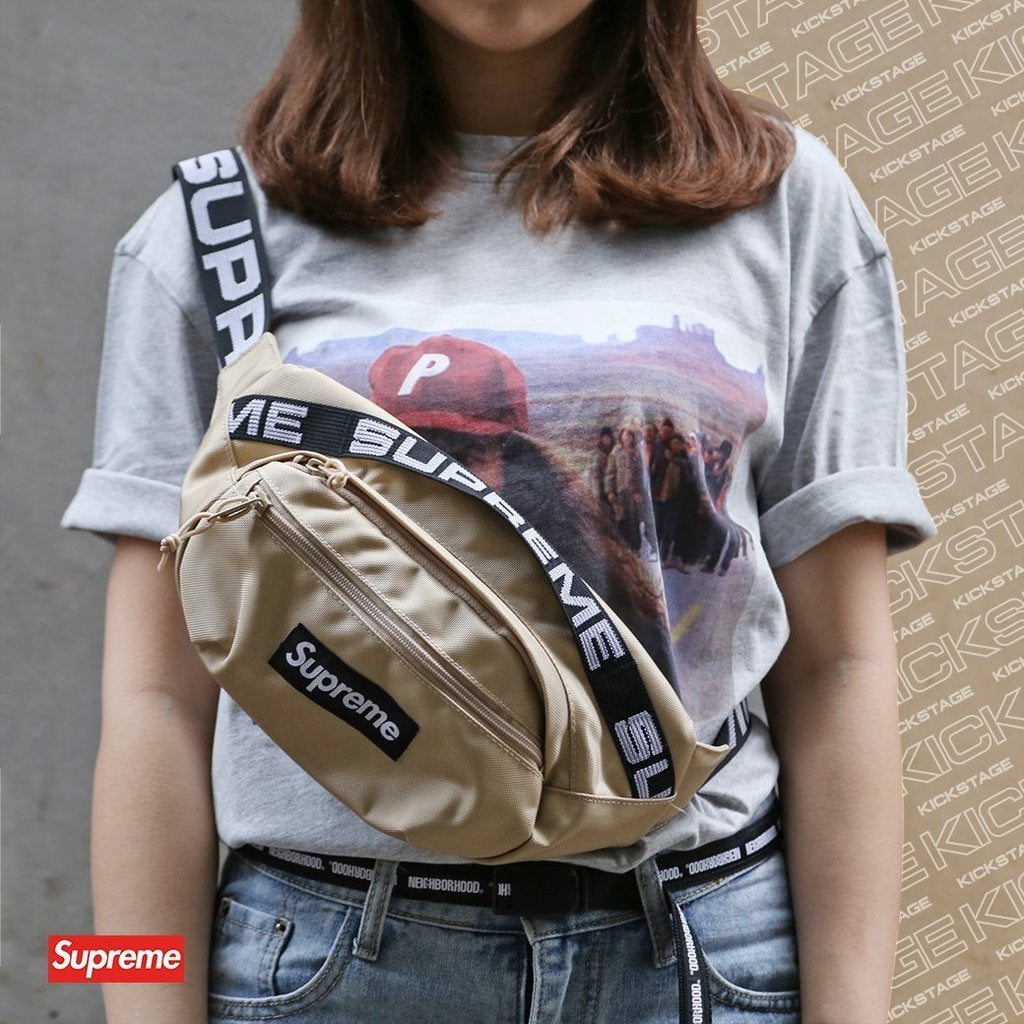 Supreme 18ss 44th Waist Bag