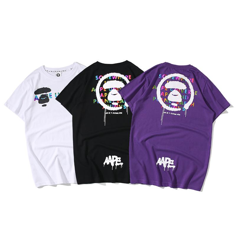 """AAPE Universe"" by A Bathing Ape SS T-Shirt"