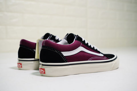 f09411816fc19e Vans Old Skool 36 DX Anaheim Factory Black OG Burgundy – FootWork