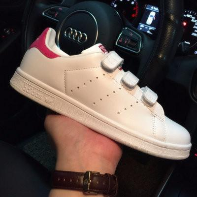 Adidas Stan Smith CF  White Bold Pink  -B32706 dcf53df90