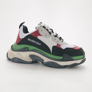 "Balenciaga Triple S 19FW ""Burgundy/Green /White"""