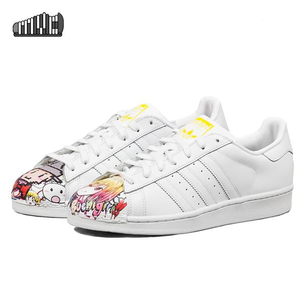 "Adidas Superstar Pharrell Supershell ""Anime"""