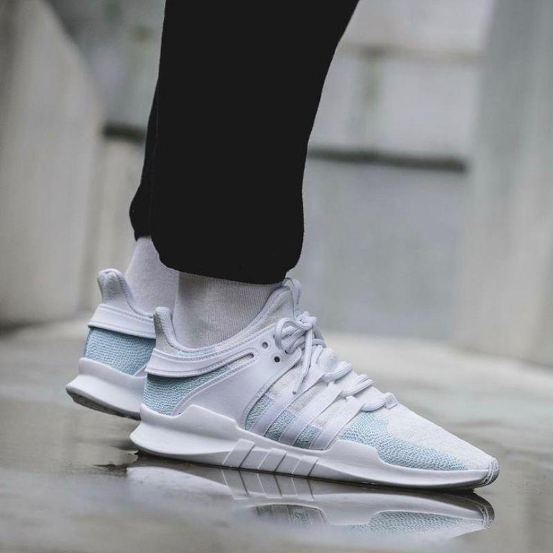 the latest 367dd 10215 Adidas EQT Support ADV Parley Blue Spirit  Off White