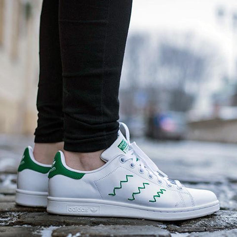 Adidas Stan Smith Zig-Zag White Green-S75139 cc4580a7e