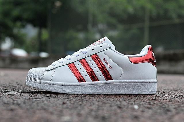 Limited Edition Adidas Superstar Ii Shell head red laser Men At a Discount Unpopularity