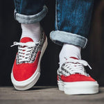 Fear of God x Vans Vault UA ERA 95 DX Red
