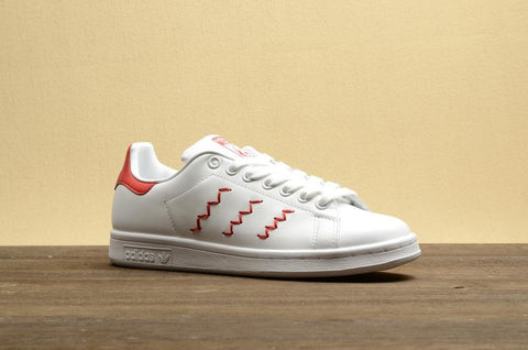 pretty nice 69bcd 8fc69 Adidas Stan Smith Zig-Zag WhiteRed-S75138