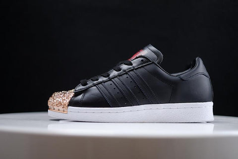 newest 2216c f137e Adidas Superstar 80s Metal Toe Gold Black