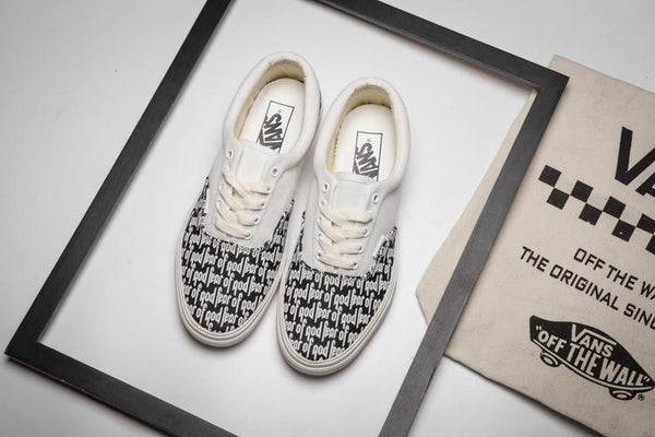 Fear of God x Vans Vault UA ERA 95 DX White