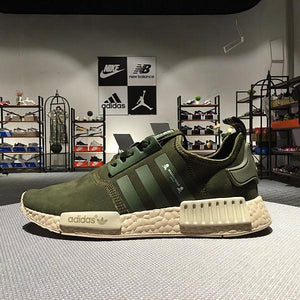 finest selection de8ca 94fc7 Adidas NMD R1 Mastermind Japan Olive Green