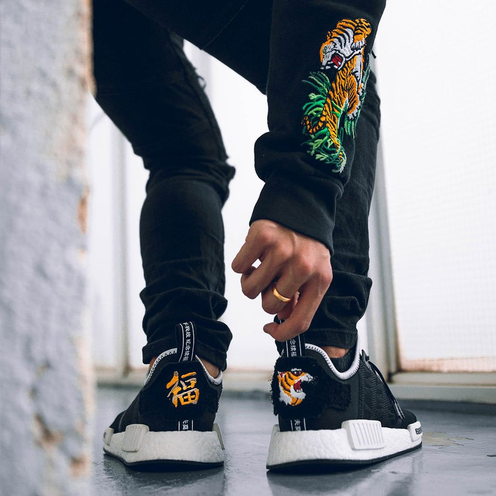 f455caed0a5 Neighborhood x Invincible x adidas NMD R1 Black