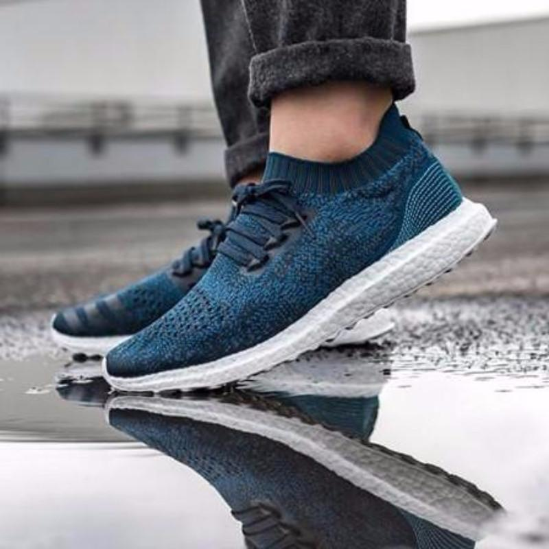 new concept ae4d9 c332f Adidas Ultra Boost Uncaged x Parley 'Legend Blue / Core Blue'
