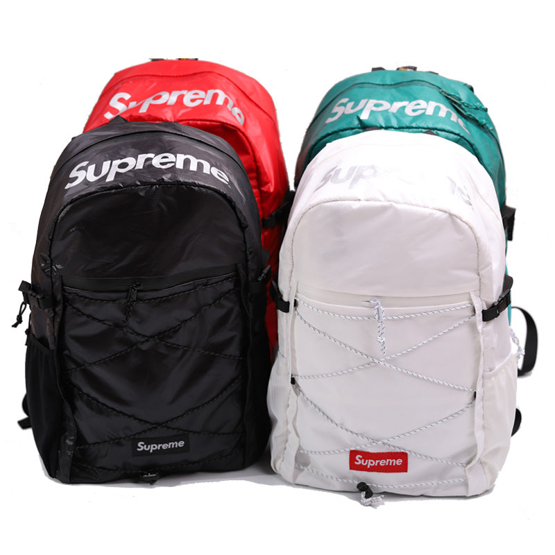 best service ce347 efc6f Supreme 43th 17FW 3M Reflective Backpack